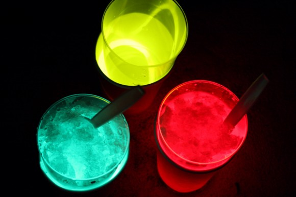 Glow-in-the-Dark Drinks